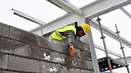 """""""Trebū Home"""" daudzdzīvokļu namos pabeigta nesošo konstrukciju būvniecība"""