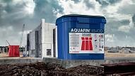 Ātri cietējošā cementa bāzes hidroizolācija– AQUAFIN-RB400