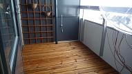 Balkona/lodžijas grīda: Kādu segumu izvēlēties?