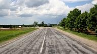 Būvnieka maksātnespējas dēļ šogad nepabeigs autoceļa būvdarbus Lietuvas pierobežā pie Bauskas