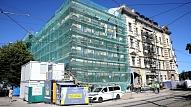 Centralizētās prokuratūras ēkas pārbūvē Aspazijas bulvārī paveikti vairāk nekā puse darbu