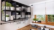 Dizainere: Arī maza virtuve var būt funkcionāla (FOTO)