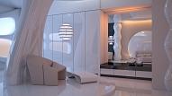 Futūrisma stils interjerā: Kas tam raksturīgs un kā to ieviest savā mājoklī?