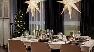 Idejas galda rotāšanai Ziemassvētku svinībām šaurā lokā