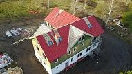 Jumta darbi: jumtu labošana, jumtu būvniecība un rekonstrukcija