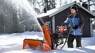 Kā efektīvi strādāt ar sniega pūtēju?