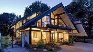 Koka karkasa māja: Celtniecības darbu plāns