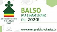 Līdz 22.septembrim aicina balsot par simpātiskāko energoefektīvāko ēku Latvijā