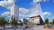 Noslēdz 76,8 miljonu eiro vērtu līgumu par Preses Nama kvartāla 1. kārtas būvniecību
