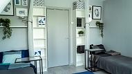 Pirms un pēc: Kā izveidot privātu telpu kopmītņu istabiņā?