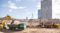 """""""Preses Nama Kvartālā"""" sākušies vērienīgi būvniecības darbi"""