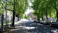 Jēkabpilī par 55 000 eiro atjaunota Ķieģeļu iela