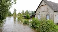 Plūdos cietušās pašvaldības cer, ka valdība palīdzēs ne tikai lauksaimniekiem