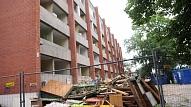 Olainē sākta teju 350 000 eiro vērta daudzdzīvokļu dzīvojamās mājas renovācija