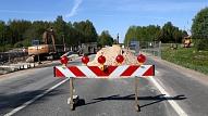 Šovakar jārēķinās ar īslaicīgi palēninātu satiksmi uz Bauskas šosejas Iecavā