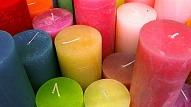 Aromātisks dekors - sveces