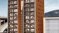 """Augstākā koka konstrukcija Norvēģijā """"Treet"""""""
