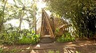Bali ekoloģiskā māja kokā