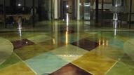 Izplatītākās betona virsmu dekoratīvās apstrādes metodes