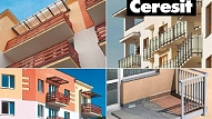 """Ceresit"" balkonu sistēma – pret ūdeni izturīgi balkoni"