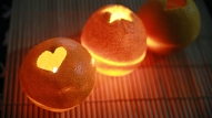 Citrusaugļu sveces