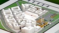 """Nodibina uzņēmumu """"Hanzas dārzs"""" parka izveidei """"New Hanza"""" teritorijā"""