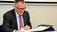Parakstīs memorandu par investīciju vides uzlabošanu nekustamā īpašuma attīstībai