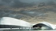 Ēka ar ūdens motīvu arhitektūrā