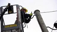 """Desmit """"Sadales tīkla"""" darbības gadu laikā elektrotīkla bojājumu skaits samazināts uz pusi"""