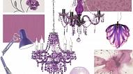 Gada krāsa – starojoši violetā arī mājas interjerā un dārzā