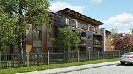 """Ieguldot 10 miljonus eiro, būvē dzīvojamo māju kompleksu """"Riverstone Residence"""" Ķīpsalā"""