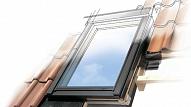 Jumta logu iebūvēšana