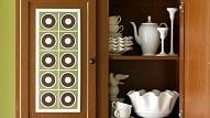 Kā izdekorēt vecus virtuves skapīšus?