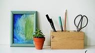 Kā izgatavot galda organizatoru?