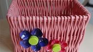 Kā izgatavot krāsainu uzglabāšanas grozu bērnistabai?