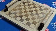 Kā izgatavot šaha galdu?