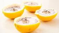 Kā izgatavot sveces no citrona mizas un lavandas sēklām?