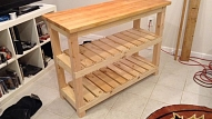 Kā izgatavot virtuves galdiņu?