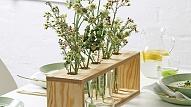 Kā izgatavot ziedu vāžu dekoru?