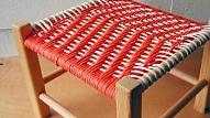 Kā izveidot tabureti ar pītu sēdekli?