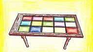Kā no vecām durvīm uztaisīt galdu?