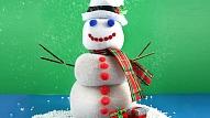 Kā no zeķes uztaisīt sniegavīru?