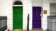 Ko par tevi atklāj mājas ārdurvju krāsa