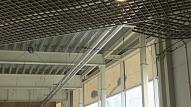 """Liecinieks: Ugunsgrēka uz """"Maxima"""" jumta sekas iekštelpās nevarēja redzēt"""