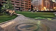 Mežonīgo Rietumu vēsturi tagad var iepazīt lielākajā skulptūru parkā Amerikā