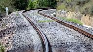 """Pārrunās """"Rail Baltica"""" trases novietojuma alternatīvu Salacgrīvas novadā"""