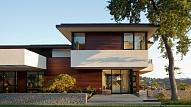Plakanais jumts mājas dizainā