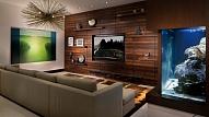 Plazmas televizora vieta viesistabā