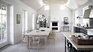 Skandināvu stils mājas interjerā