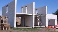 Vieglbetona bloki māju sienu būvniecībā